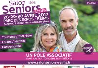 Retrouvez nous au salon des Séniors actifs du 28 au 30 Avril à Reims