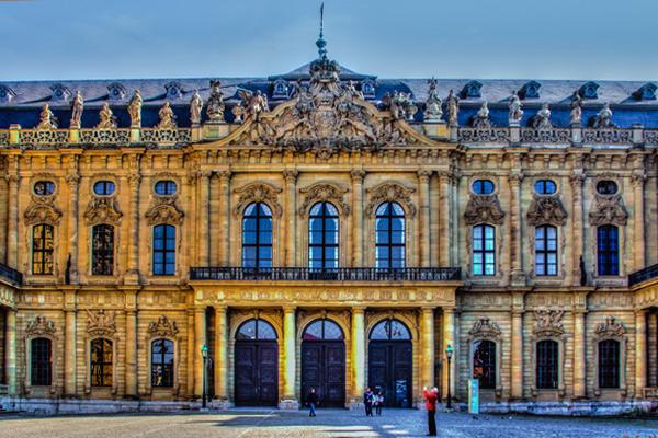 Façade du château de Versailles