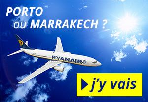 Pub destinations avec Ryanair